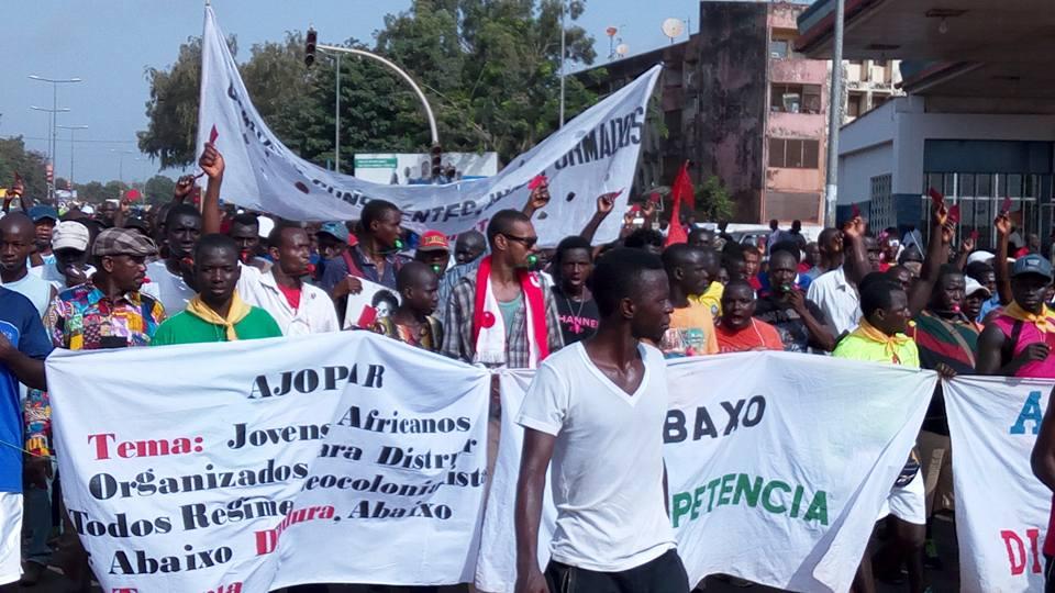ALD March in Guinea-Bissau