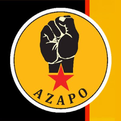 Azanian Peoples Organization - AZAPO
