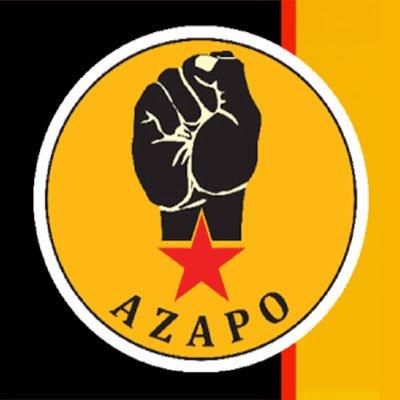 Azanian Peoples Organization - AZAPO