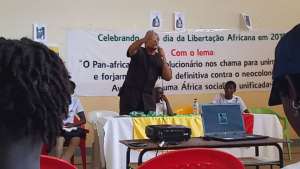 Imani Na Umoja addressing participants at ALD Ideological Seminar - 22 May 2019