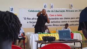 Imani Na Umoja addressing participants at ALD Ideological Seminar - 22 May 2019