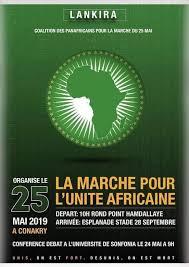 ALD Guinee Flyer - La Marche Pour L'Unite Africaine