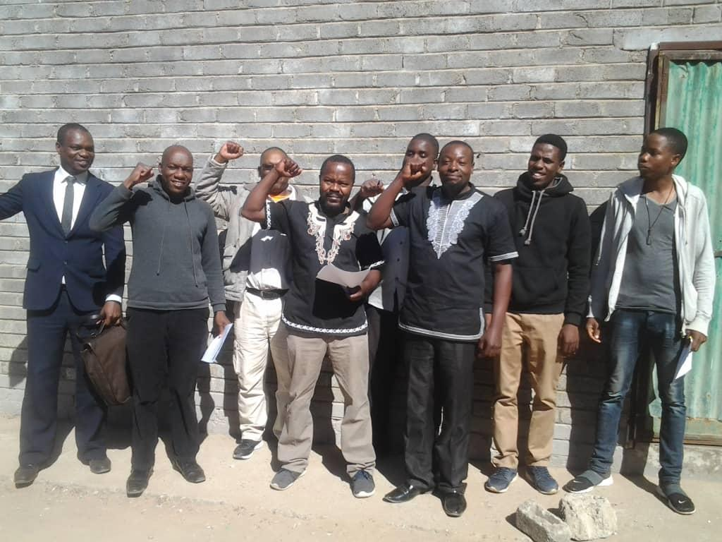 Revolutionary Comrades Commemorating ALD in Gweru, Zimbabwe