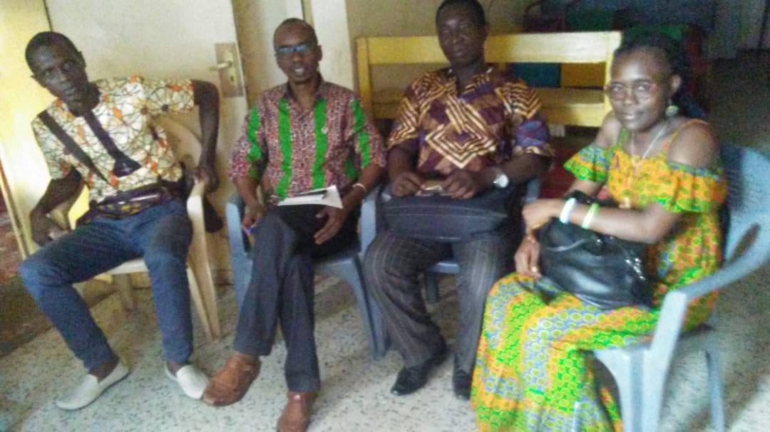 Part of Pan-African Coalition discussing ALD plans in Freetown, Sierra Leone