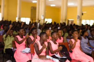 Students @ ALD Ghana, Western Region Clapping