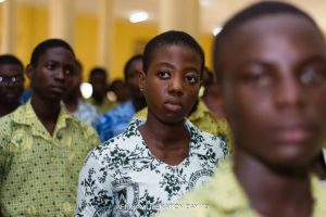 At Attention @ ALD Ghana, Western Region