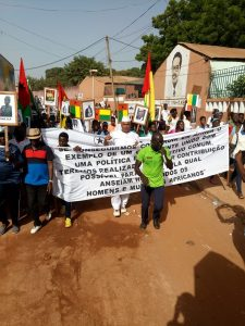 ALD March in Bissau, Guinea-Bissau