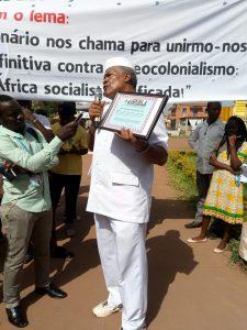 Kwame Ture Black Star of Labor Award for Jesus Garcia