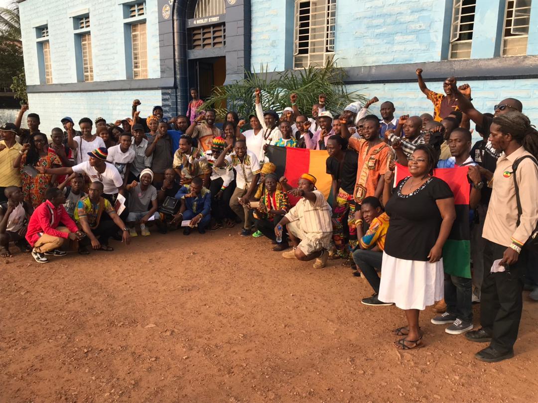 ALD 2018 Wesley Street in Freetown, Sierra Leone