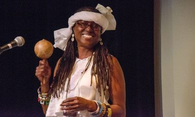 Griot Phavia Kujichagulia Performs in Oakland at ALD